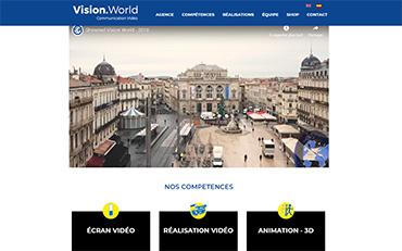 présentation du site vision.world